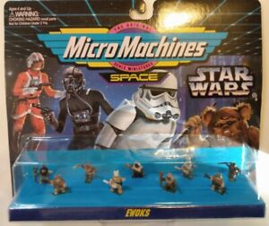 MicroMachines Space - Star Wars collection 66080 #2 Ewoks 1994