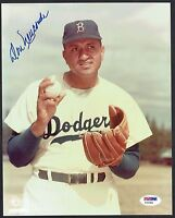 Don Newcombe signed autograph 8x10 photo ROY, MVP & Cy Young Winner PSA/DNA Cert