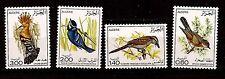 ALGÉRIE les OISEAUX  série complète de 1977  N° 595-598    1m244t3
