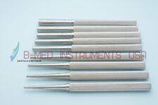 OR Grade Set of 9 Bone Tamper 2mm to 10mm Implant Dental Instruments