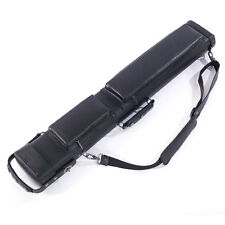 New 3 X 5 Hard Pool Cue - Billiard Stick Carrying Case Black 1/2