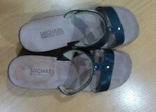 Micheal Kors Women's Black Leather sandals Size 7 M