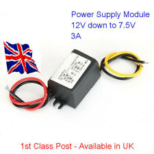 Waterproof DC - DC  Converter 12V to 7.5V - 3A  All Projects - Available in UK