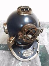 Antique Vintage Brass Diving Divers Helmet Maritime U.S Navy Mark V