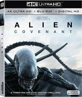 Alien: Covenant [New 4K UHD Blu-ray] With Blu-Ray, 4K Mastering, Ac-3/