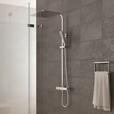 Duschsystem inkl. Thermostat Duschkopf 30x30cm Handbrause Duscharmatur Dusche