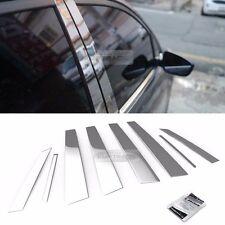 Stainless Steel Chrome Window Pillar Molding 8P For HYUNDAI 2002-2005 Santa Fe