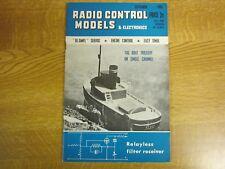 September 1963, RADIO CONTROL MODELS, John Handyside, Phill Gerrard, Bob Dunham.