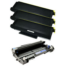 4 Pack Combo TN650 Toner Cartridge and DR620 Drum For Brother MFC-8890DW Printer