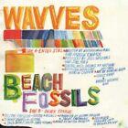 Wavves X Beach Fossils Enter Still  Silver Tongue RED VINYL 7 Record non lp NEW