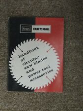 Sears Handbook of Circular Saws & Acceories 1981