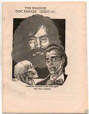 1982 pulp fanzine The Shadow - Doc Savage Quest #11, mint