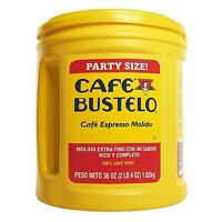 Cafe Bustelo Coffee Espresso, 36 Ounce Party Size