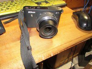 Nikon 1 J2 10.1MP Digital Camera - Black