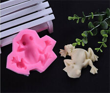 3D Cute Frog Silicone Molds Cookie Fondant Baking Tools Cake Decor Baking Moulds