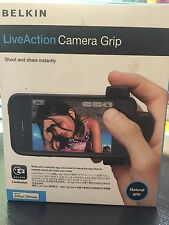 Brand New Belkin LiveAction Camera Grip F8Z888qe compatible with iPod /iPhone