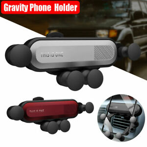 Universal Air Vent Car Mount Gravity Auto-Grip Car Phone Holder For iPhone X XS