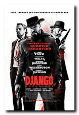 Django Unchained Movie Poster 24x36 Inch Wall Art Portrait Print