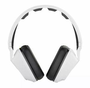 New Skullcandy Over-The-Ear Headphones Built-in Amplifier, White (S6SCFZ-072)