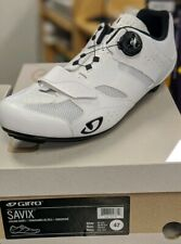 Giro Bike Shoes Savix White Plain size us 12