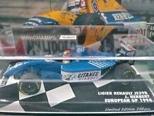 Minichamps 1/43 Ligier JS39B Johnny Herbert European GP 1994 Gitanes