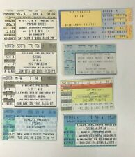 8 Sting Concert Ticket Stubs 1985 1988 1991 1993 1996 1999 the Police