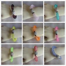 Wholesale 20 Magnetic Rhinestones Disco Balls Beads Wrap Cuff Bracelet Parties