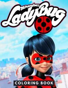 Miraculous Ladybug Coloring Book by DAMO Coloring