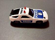 🏁 MAJORETTE PORSCHE 928 POLICE CAR SONIC FLASHERS 🏁
