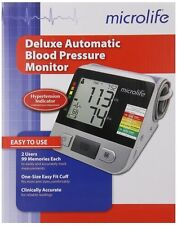 Microlife Deluxe Automatic Blood Pressure Monitor + Software + 4 AA Batteries