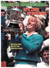 June 18, 1984 Martina Navratilova Sports Illustrated NO LABEL