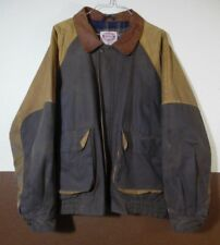 VTG The Australian Outback Collection Oil Skin waxed cotton 2 toned Jacket XL