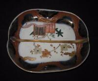 "Arita, Vintage Japanese Imari, EH895, 52210, Scalloped Tray Bowl, 6 1/4"" by 5"""