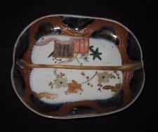 "Arita, Vintage Japanese Imari, EH895, 52210, Scalloped Tray Bowl, 6 1/4"" by 5"""
