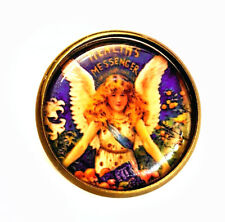 The Health Messenger Brooch Pin Bronze Jewellery Steampunk Wing Victorian Doctor