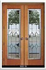 Heritage Timeless  Design glass interior Doors Bevel Diamonds
