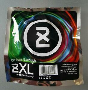Skullcandy 2XL Offset Earbuds Earphones White Black Brand New