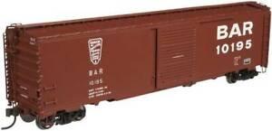 ATLAS 20003379 HO 50' SINGLE DOOR BOX CAR BANGOR & AROOSTOCK #10137