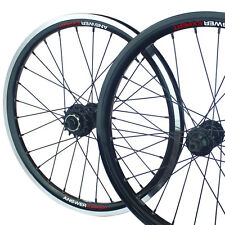 "BMX Race Wheel Set Sealed F&R Cassette Answer Expert Size 24″x 1.50"" (Black)"