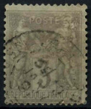 France 1877-90, 3c Grey Used #D50441