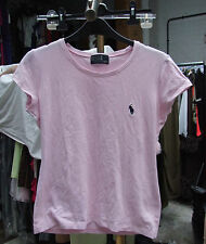 Polo ralph lauren adorable rose à manches courtes fille t-shirt 6-7-8 ans
