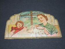 Fashion Quality Needle Book With (47) Needles