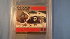 Joe Cocker / Signed Hard Knocks CD Cover / PSA DNA COA / Autograph Encapsulated