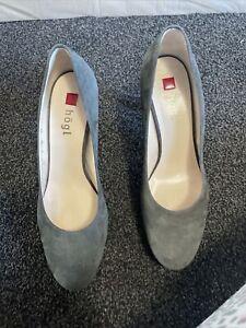 Ladies Grey Hogl Heeled  Shoes Size 5