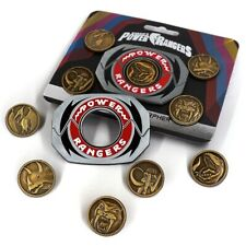 More details for mighty morphin power rangers legacy power morpher pin badge set