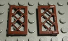 Lego Fenster 1x4x3 Weiss mit Hellblauer Kipp Scheibe 2612