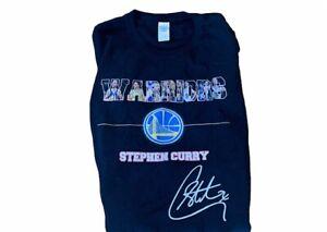 Stephen Steph Curry Golden State Warriors T-Shirt 3XL Black XXXL Basketball NBA