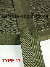 """1"""" Inch MilSpec Military Webbing MIL-W-27265 4088 OD7 T17 PER YARD"""