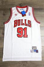 Dennis Rodman #91 Chicago Bulls Jersey Throwback Vintage Classic Retro White New