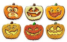 Tovolo Halloween Pumpkin Cookie Cutter & 6 Design Stamps Set Jack-O-Lantern